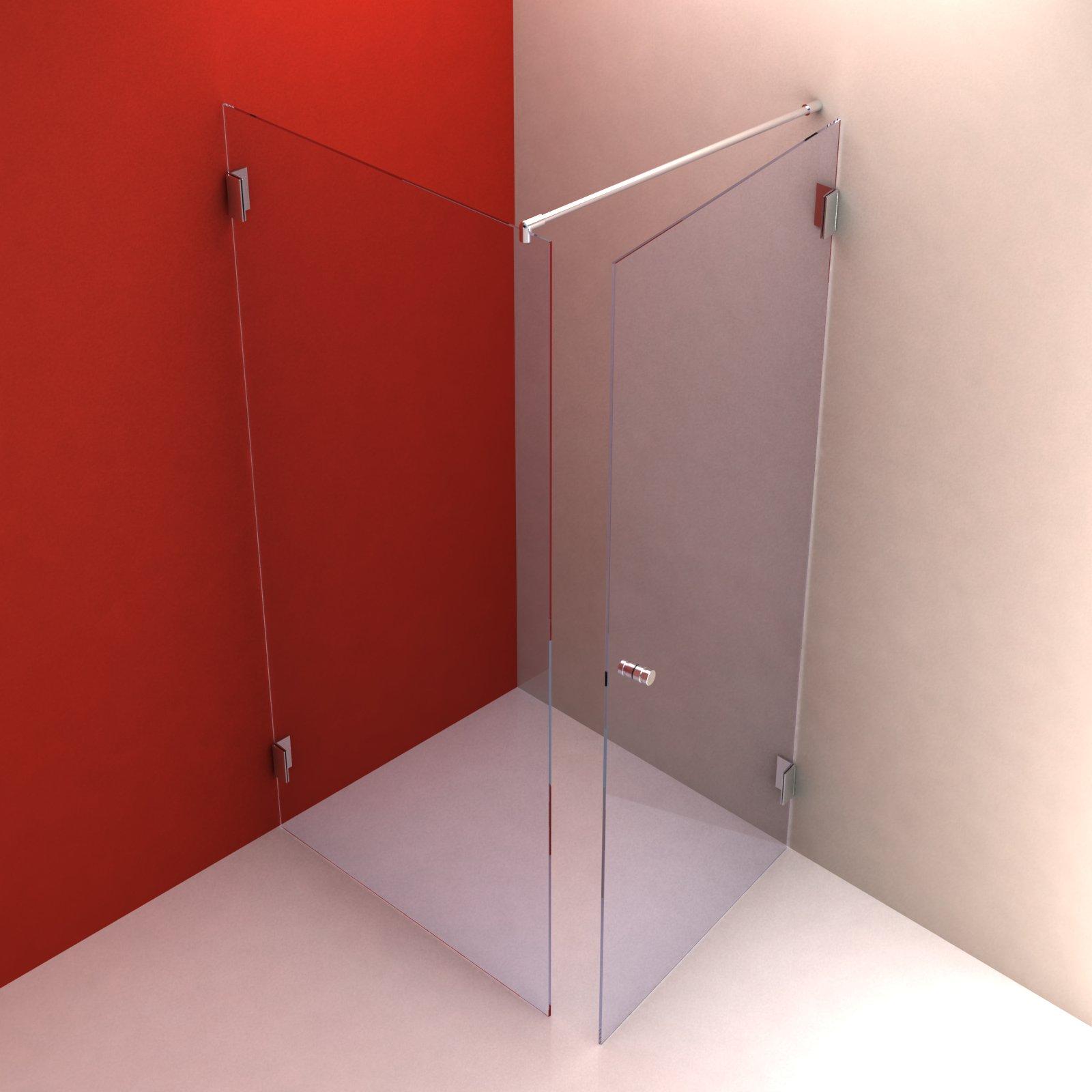 typ 201 aus glas duschkabinen duschw nde. Black Bedroom Furniture Sets. Home Design Ideas