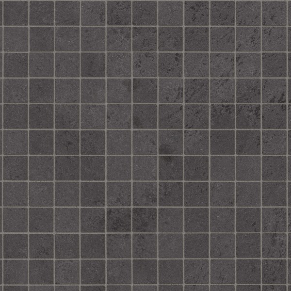 Mosaik Dunkelgrau