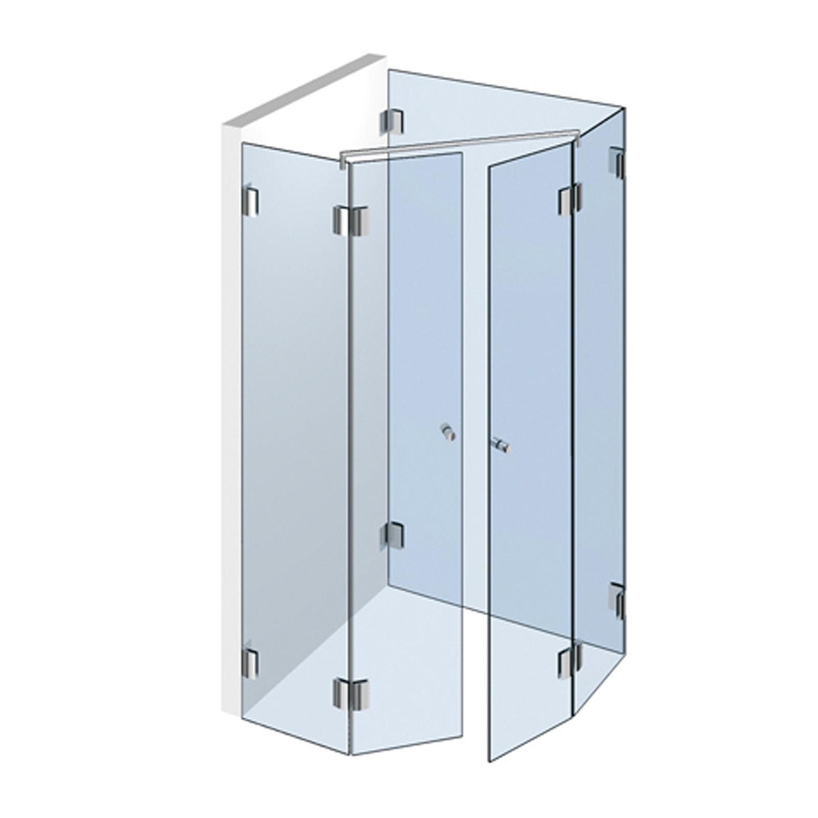 echtglasdusche typ 313 weitere aus glas duschkabinen duschw nde. Black Bedroom Furniture Sets. Home Design Ideas