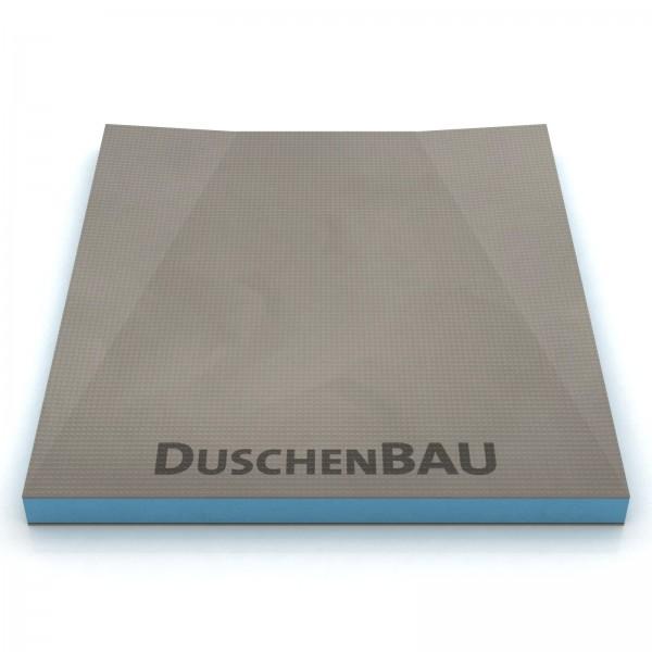 Duschelement 80x140 cm für Geberit Wandablauf