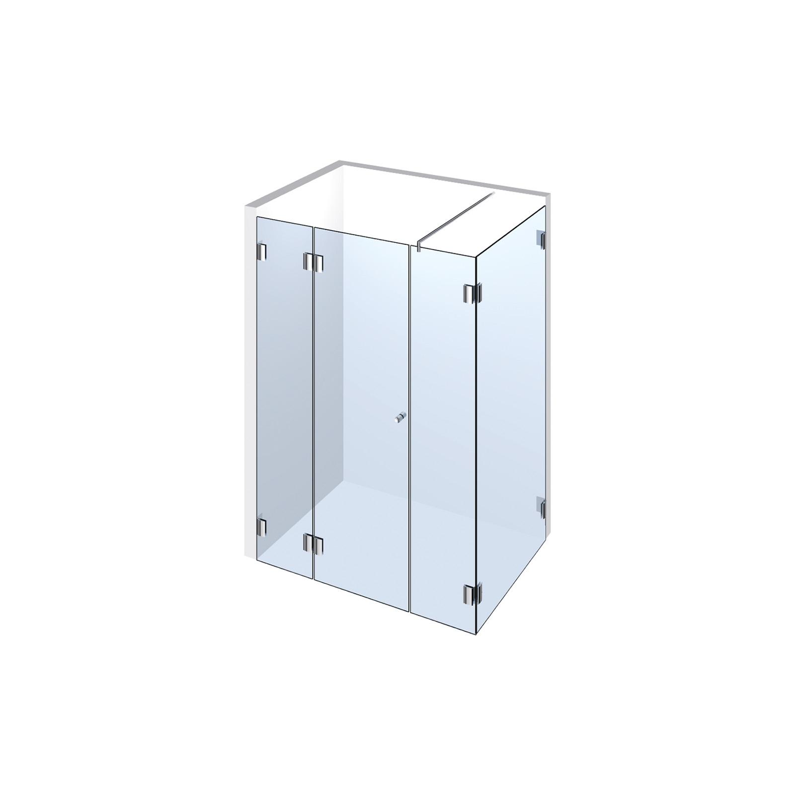 echtglasdusche typ 204 weitere aus glas duschkabinen duschw nde. Black Bedroom Furniture Sets. Home Design Ideas