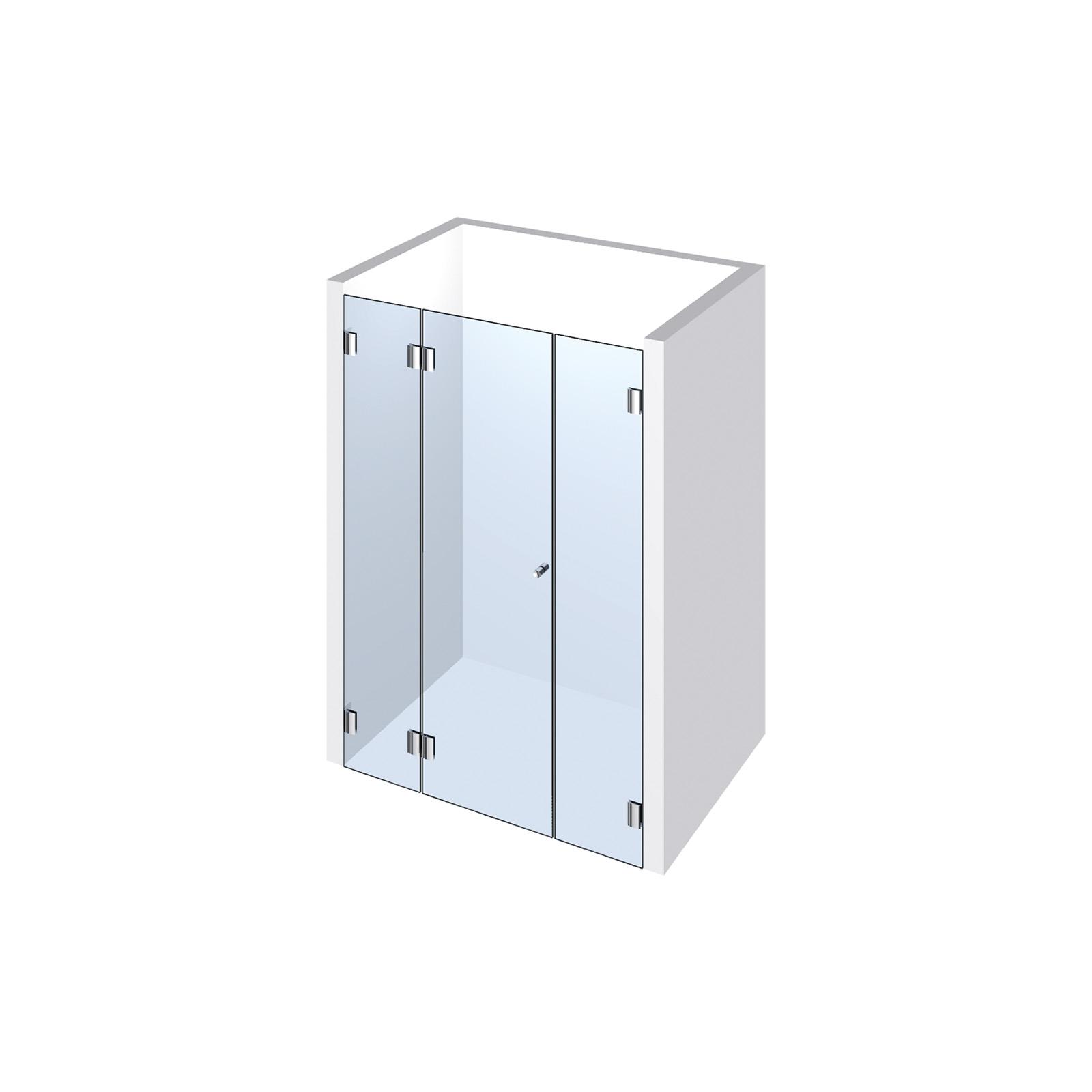 echtglasdusche typ 105 weitere aus glas duschkabinen duschw nde. Black Bedroom Furniture Sets. Home Design Ideas