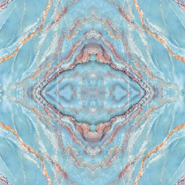 Mirrored Marble Turquoise